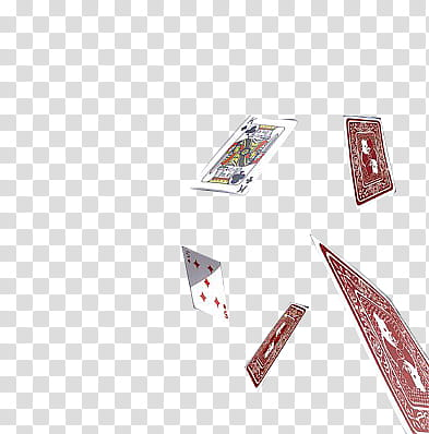 falling playing cards transparent background PNG clipart.