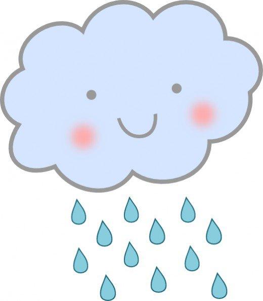 Spring rain clipart.