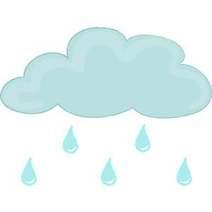 Rain Clipart Image.