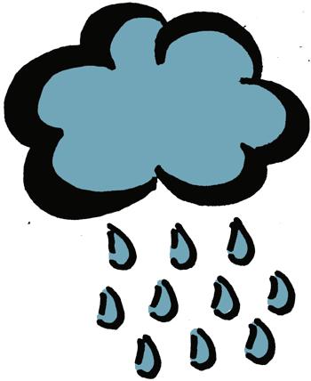 rain clip art #rain_double_under_cloud.