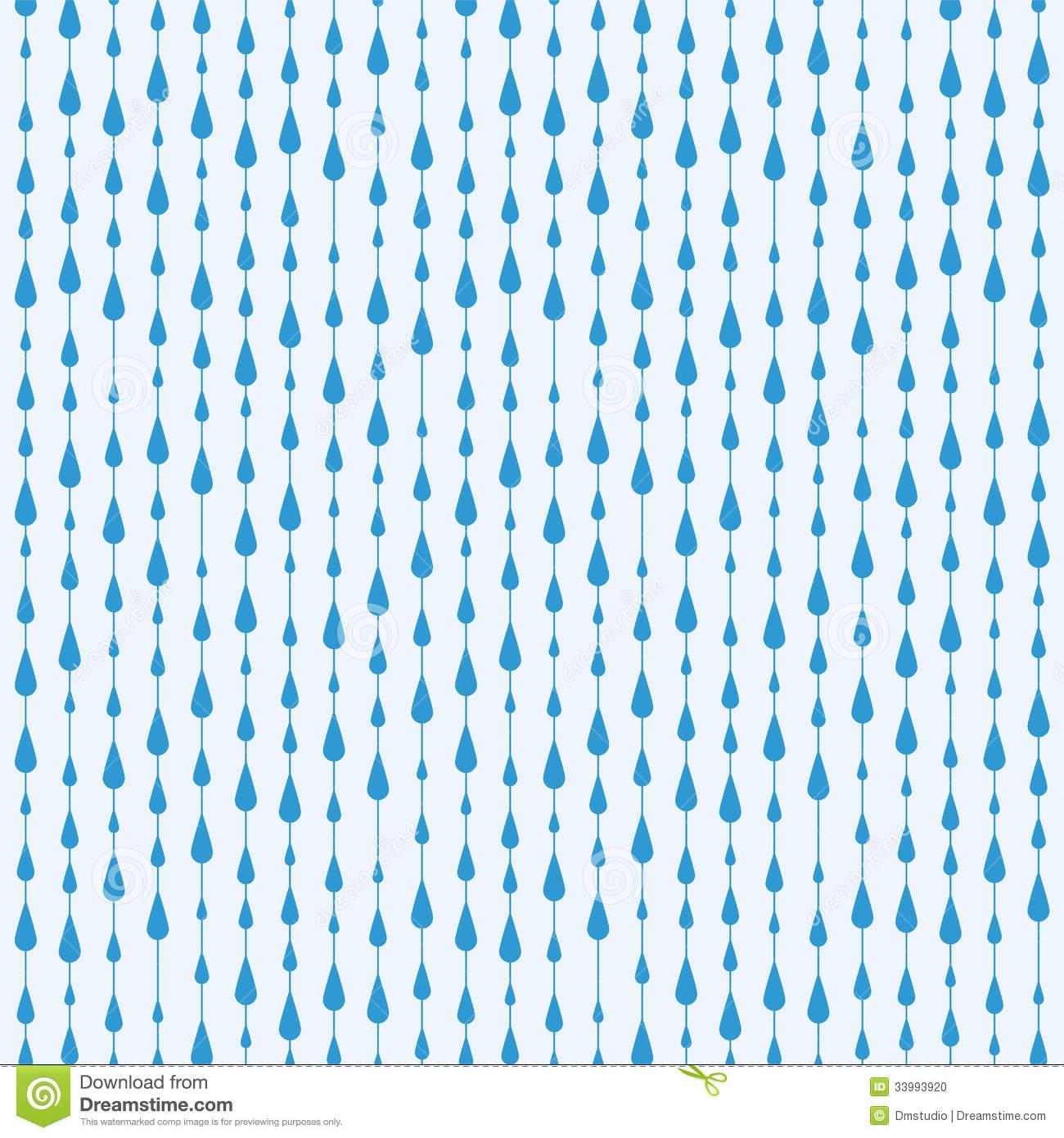 Rain falling clipart.