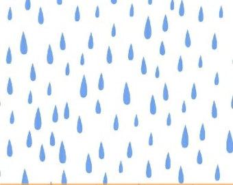 Clipart raindrops falling.