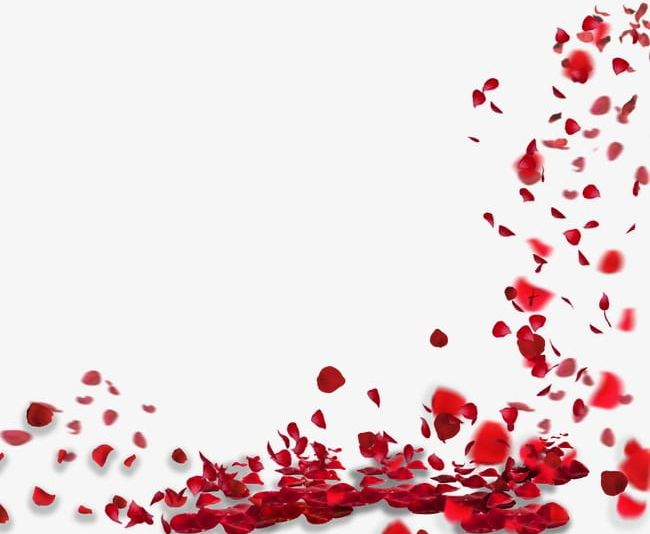 Rose Petals Floating Material PNG, Clipart, Abstract.
