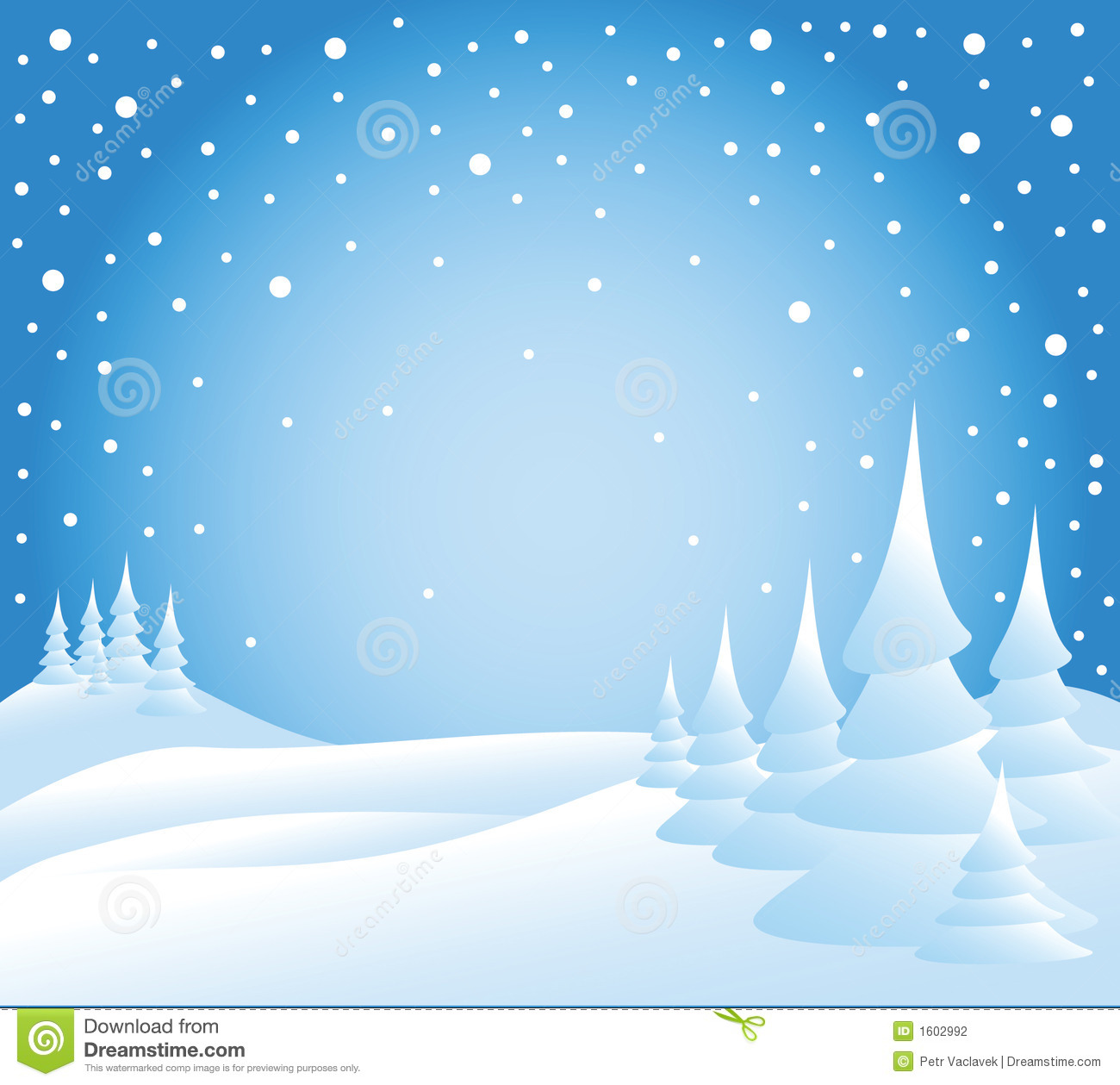Snow falling clipart.