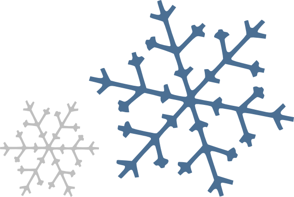 Snowflakes Clip Art at Clker.com.