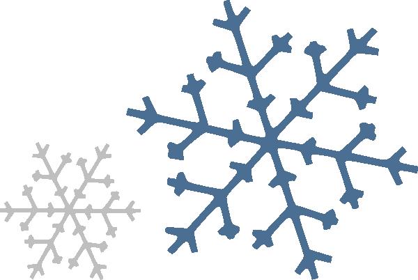 Snowflakes Clip Art at Clker.com.