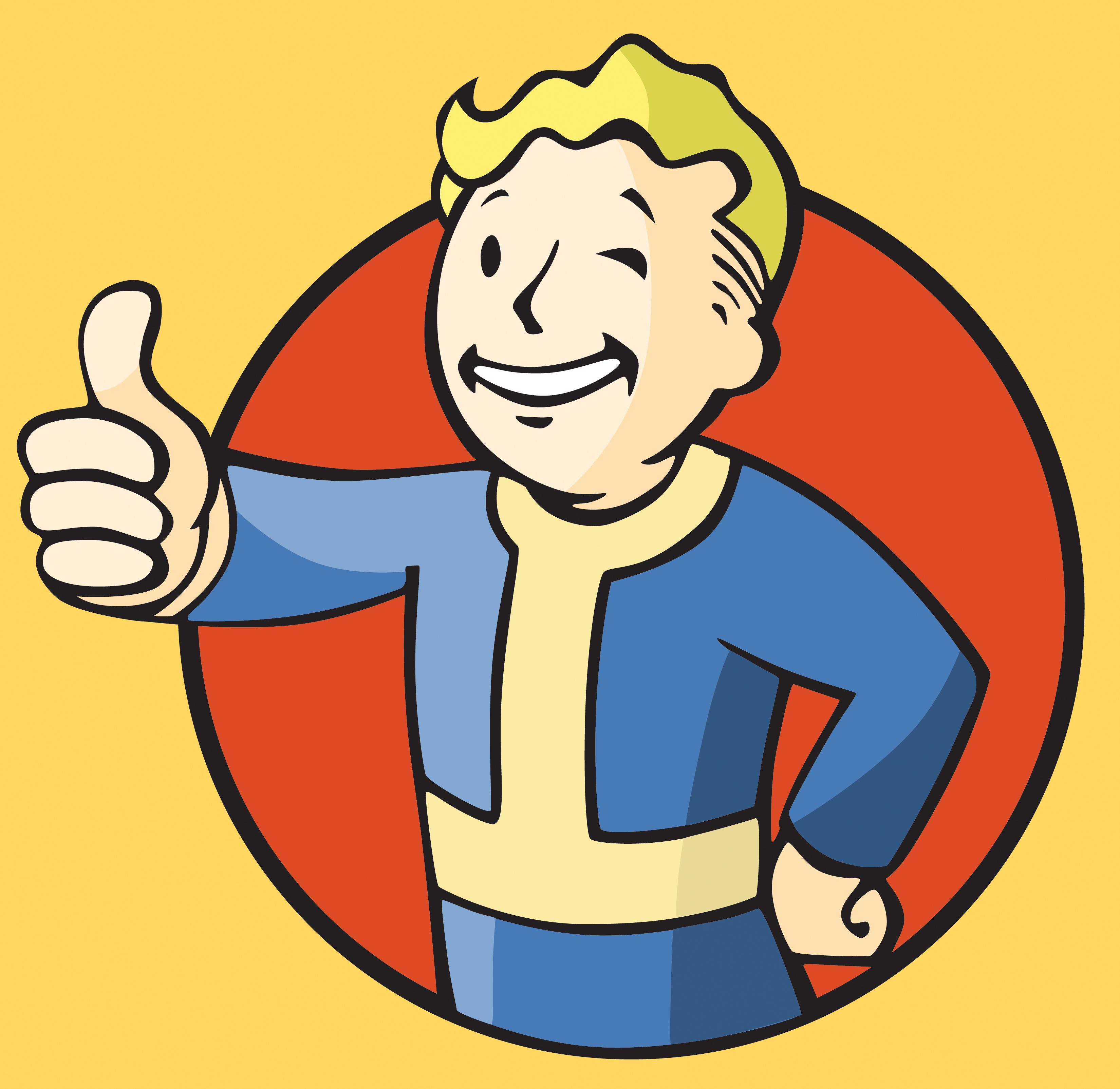 Fallout 3 Clipart Vault Boy.