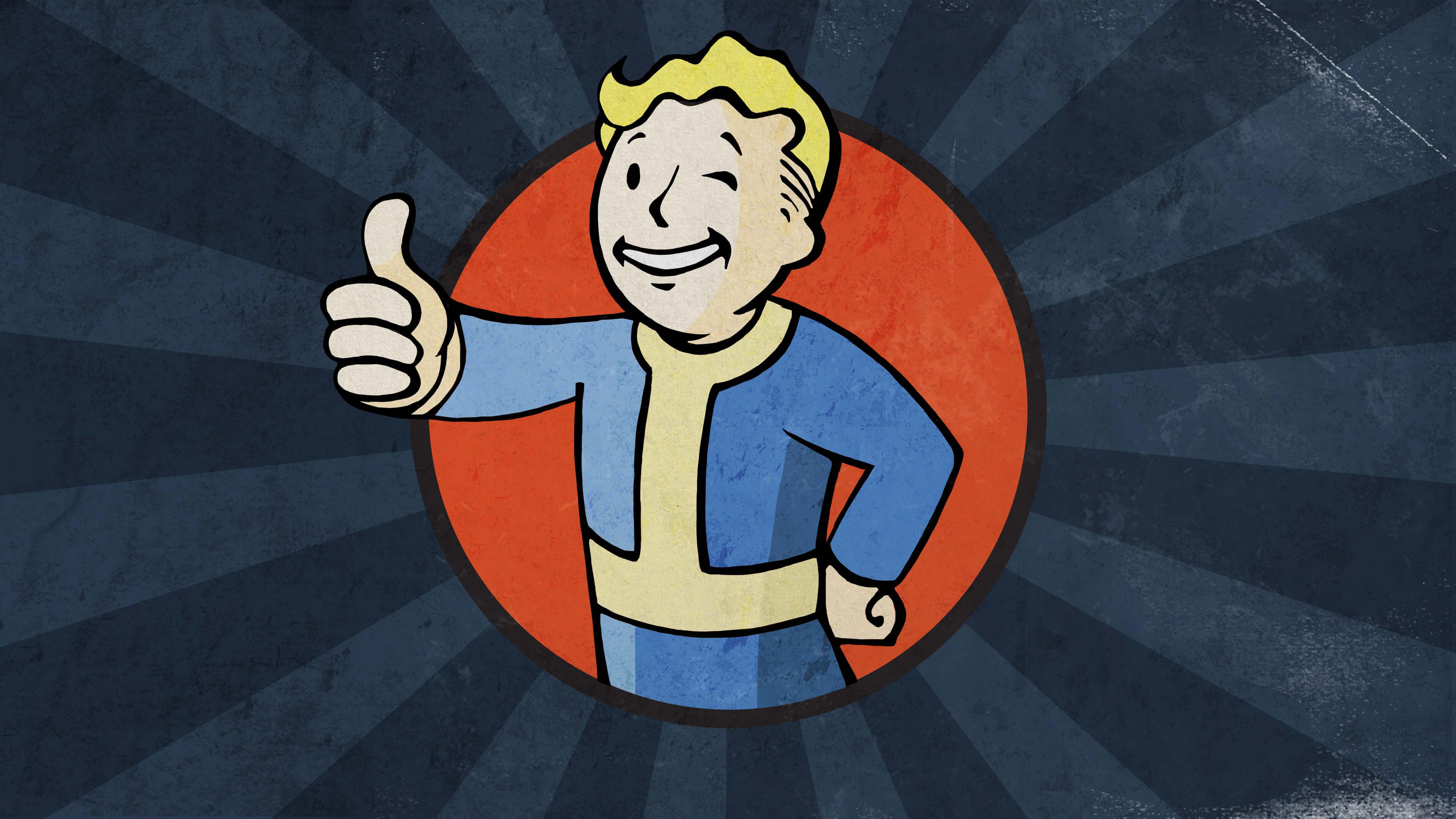 Fallout Vault Boy.