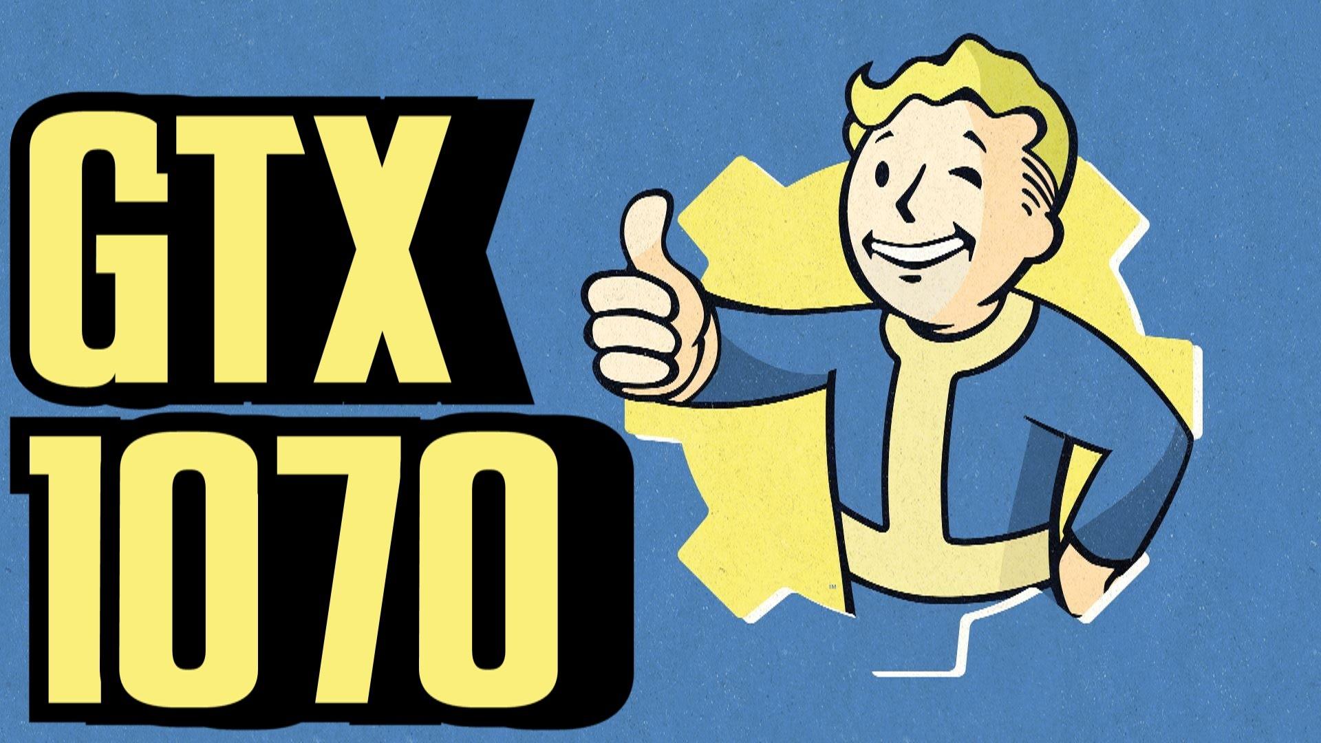 Fallout 4 GTX 1070 OC.
