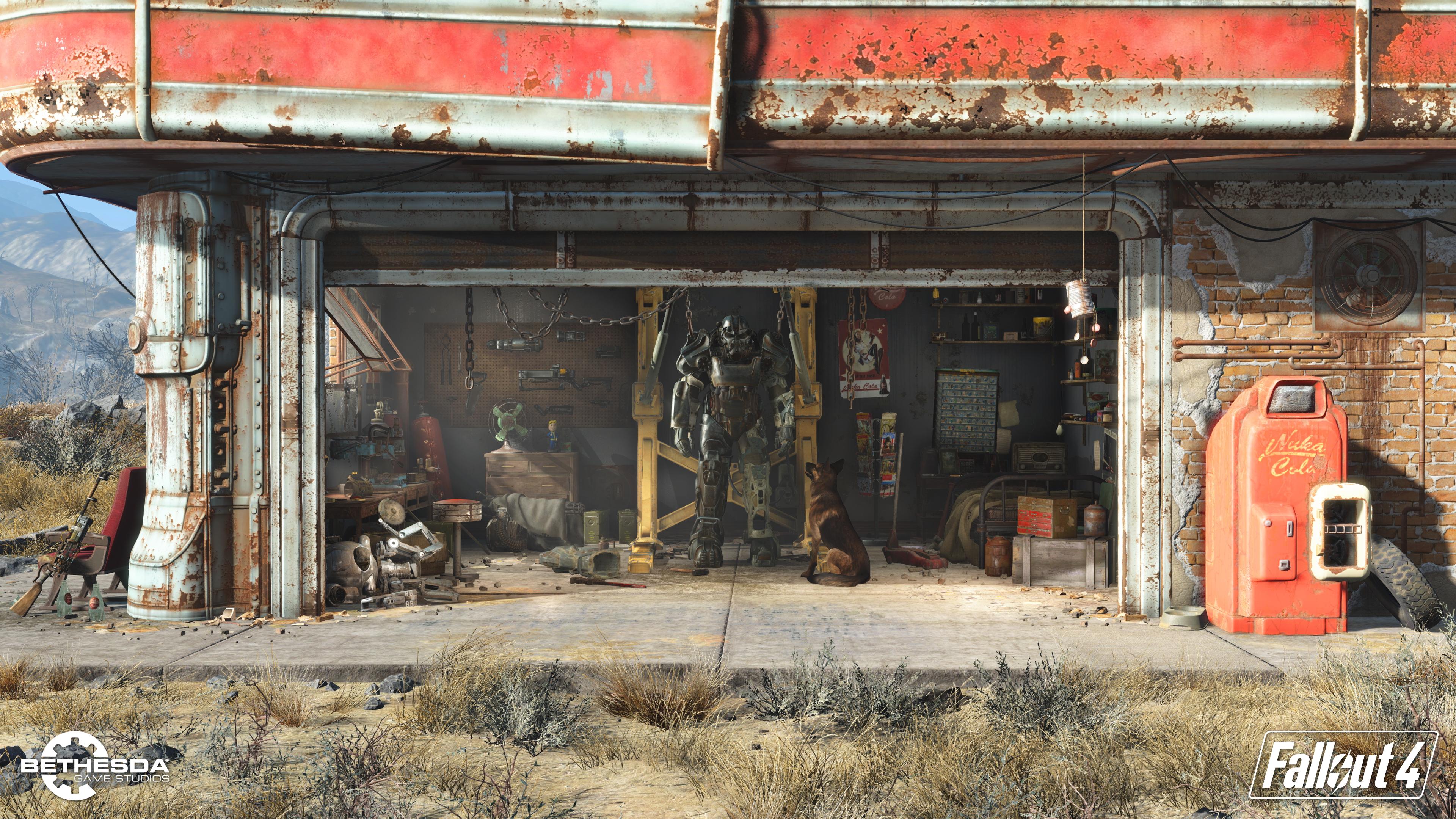 Fallout 4 Garage Clipart.