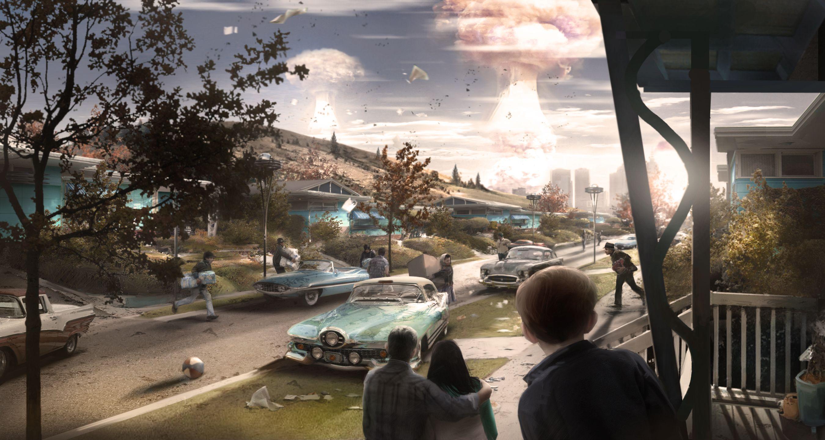 Fallout 4 Concept Art Clipart.