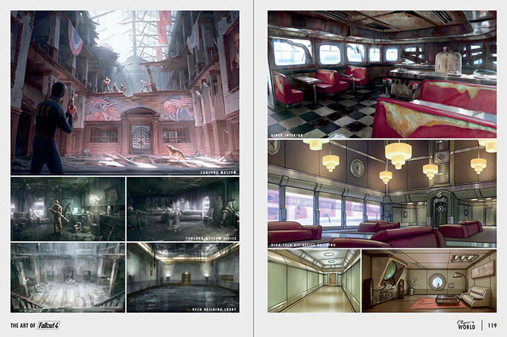 Bethesda Have Released Some Absolutely Beautiful Fallout 4 Concept Art.