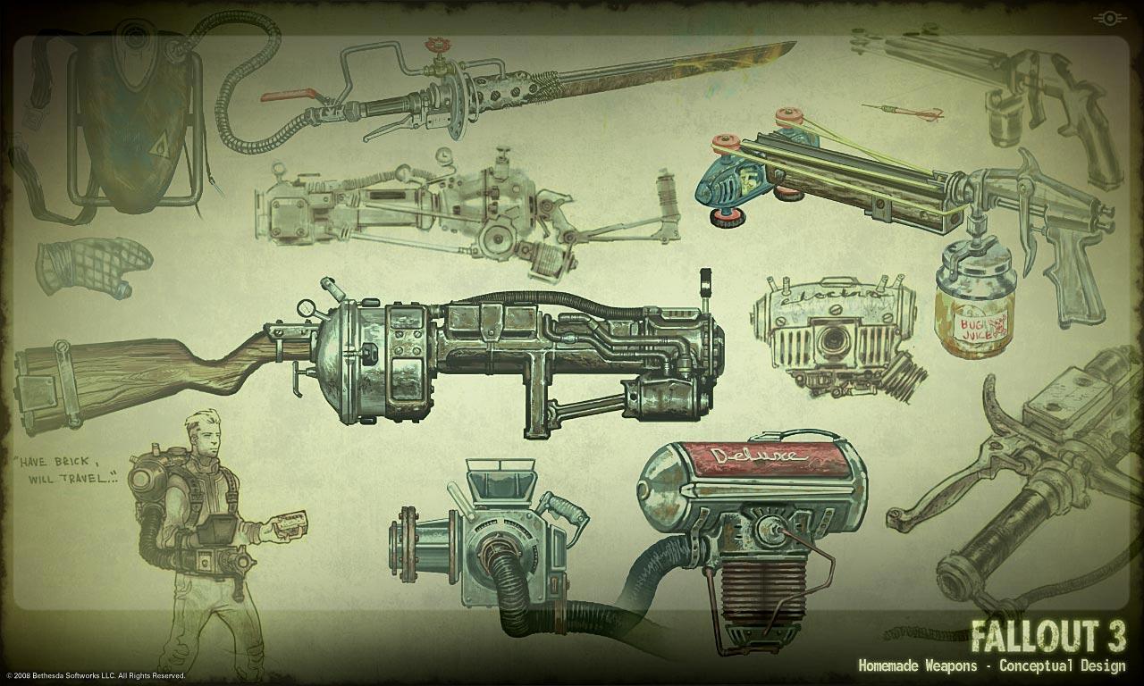 Fallout 3 Concept Art Clipart.