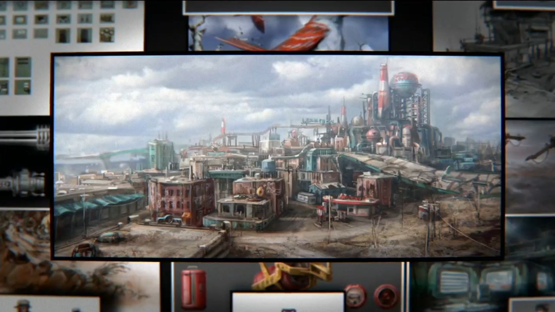 Watch more like Fallout 3 Concept Art.