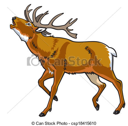 Red deer Clip Art and Stock Illustrations. 7,921 Red deer EPS.