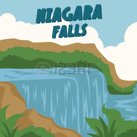 Clipart niagara falls.