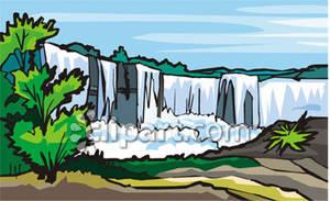 Niagara falls clip art.
