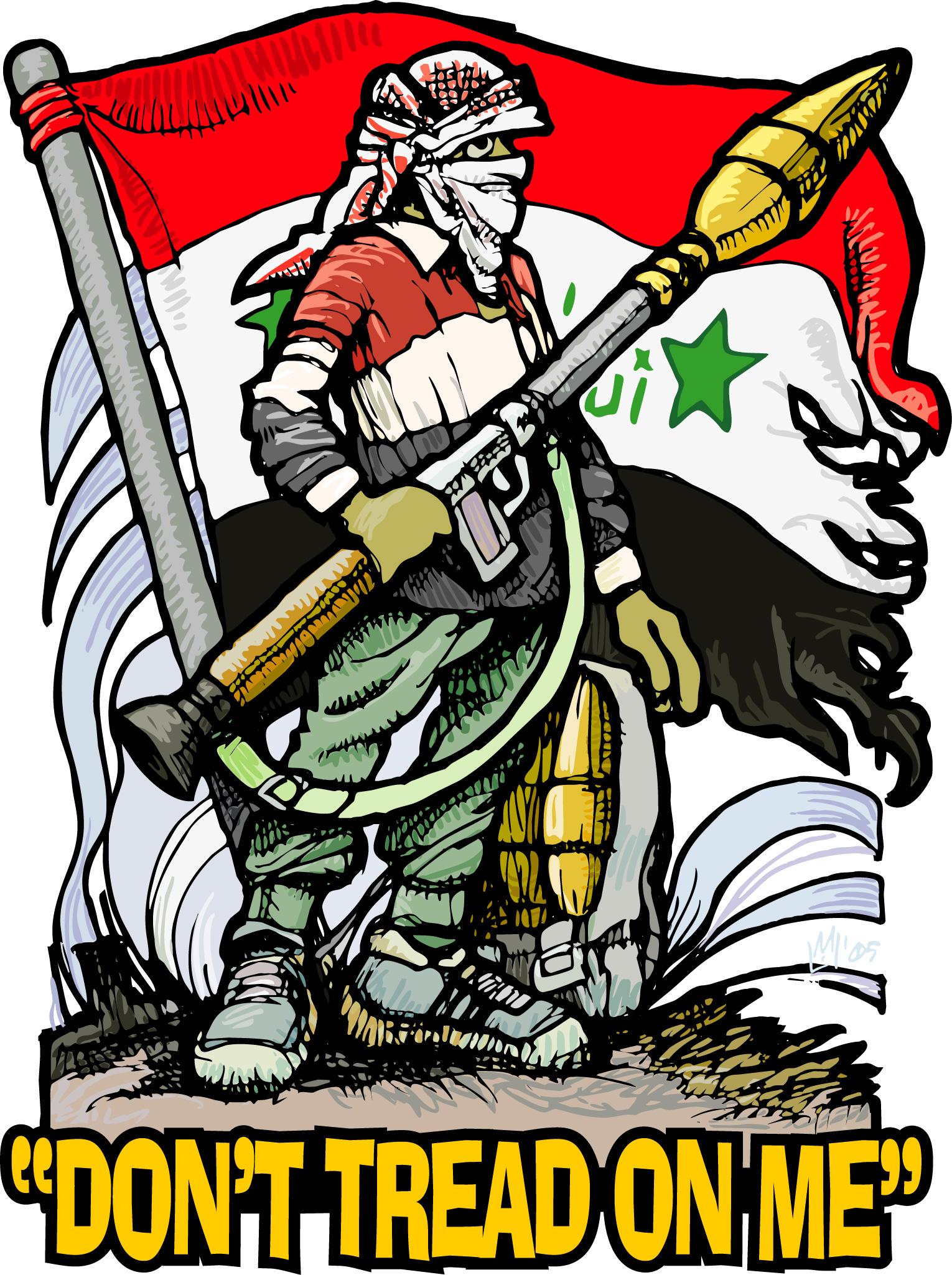 Mike Flugennock: Political Cartoons » Fallujah.
