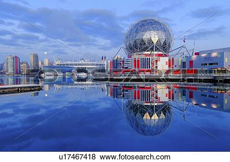 Pictures of Telus World of Science, False Creek, Vancouver British.