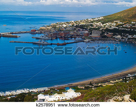 Stock Photography of False Bay Cape Town, South Africa k2578951.