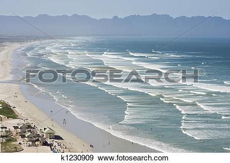 Stock Photograph of False Bay, South Africa k1230909.