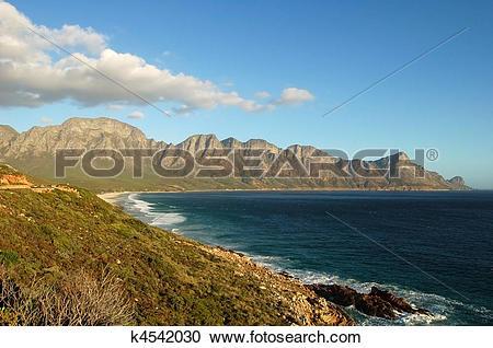 Stock Photography of False Bay, South Africa k4542030.