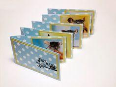 Jardinet de paper Scrapbooking: Álbum Scrapbooking para bebe.