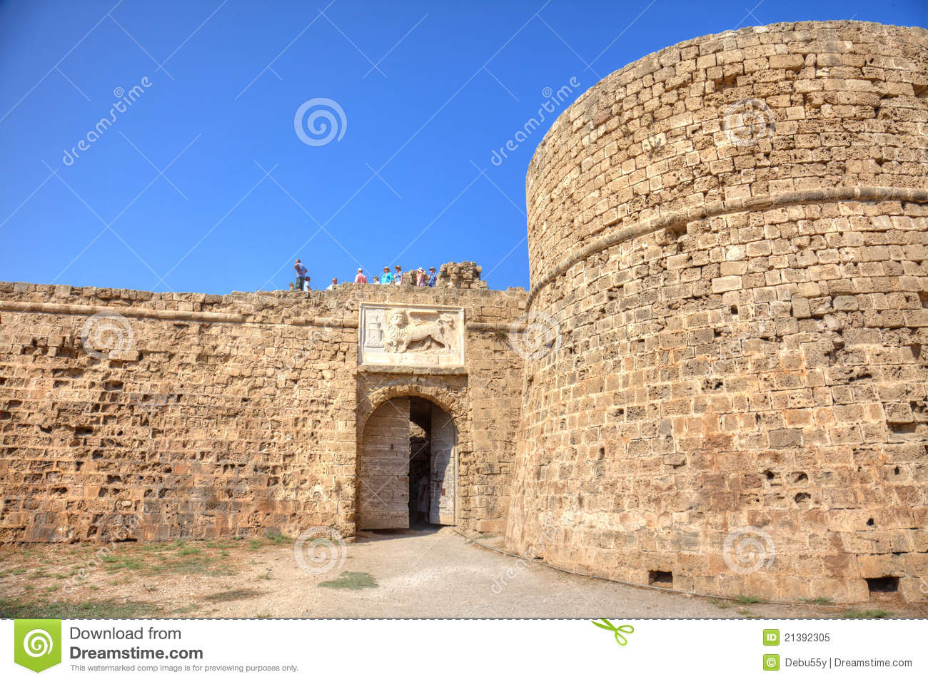 Othello Castle In Famagusta Editorial Image.