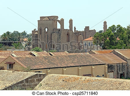 Stock Photo of Church of Sts. Peter and Paul (1359), Famagusta.