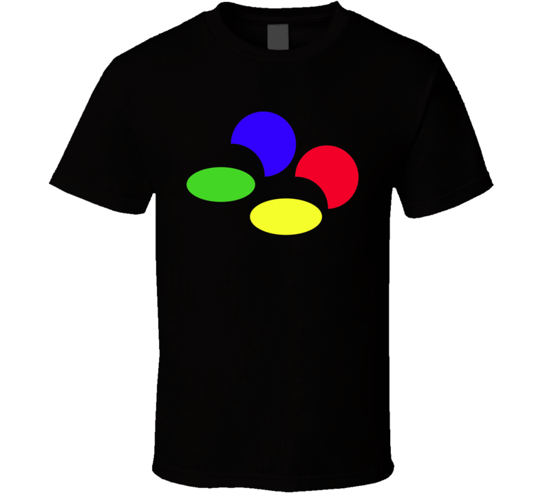 Super Famicom Logo T Shirt.