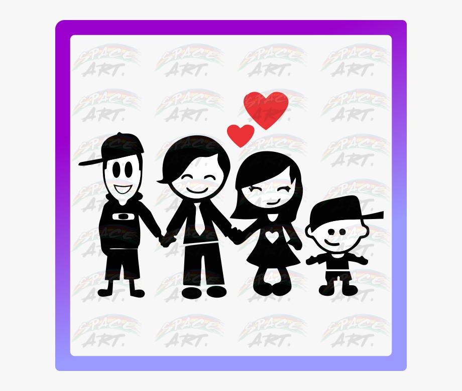 Imagens De Familia Feliz , Transparent Cartoon, Free.