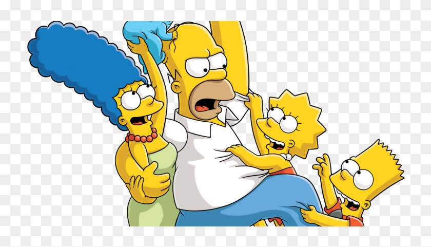 Familia Simpsons Png.