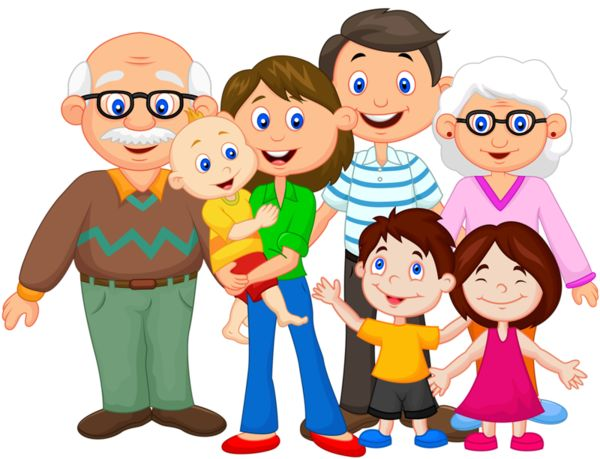 Clipart of my family.