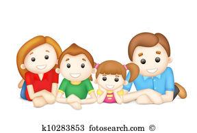 Happy family Clip Art EPS Images. 50,341 happy family clipart.