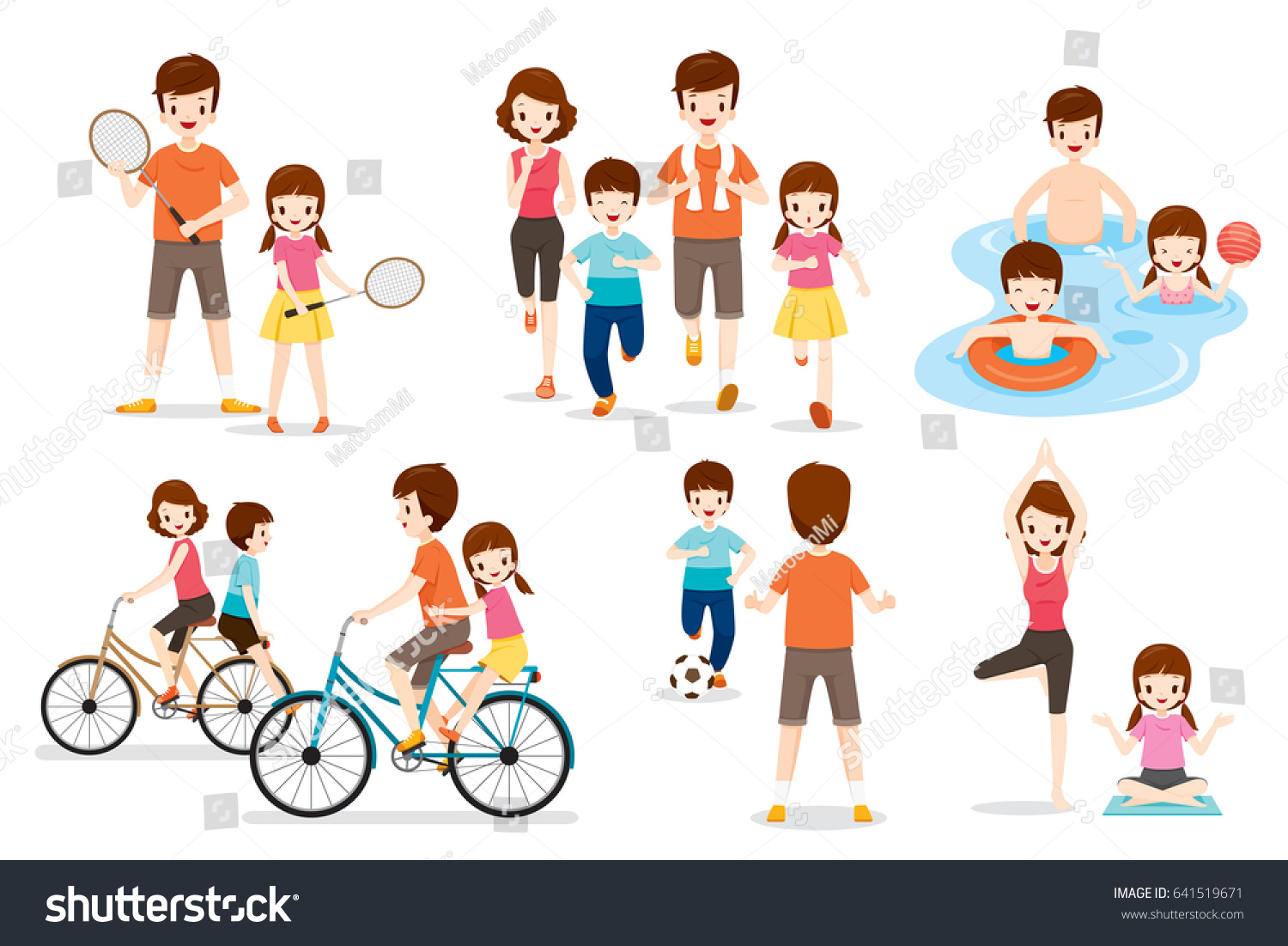 Family activities clipart 7 » Clipart Station.