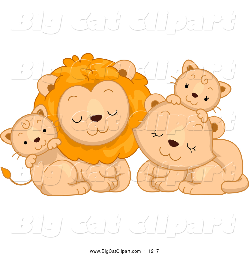 Family animal clipart.
