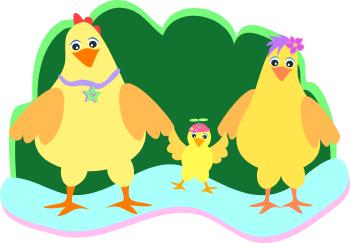 Farm Family Clipart.