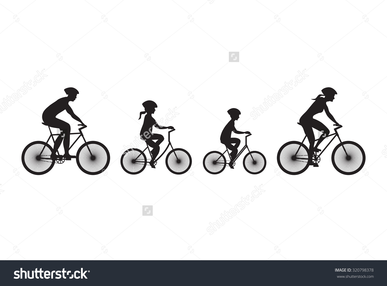 Free Bicycle Family Cliparts, Download Free Clip Art, Free Clip Art.