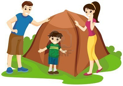 Family Camping Clipart#1903335.