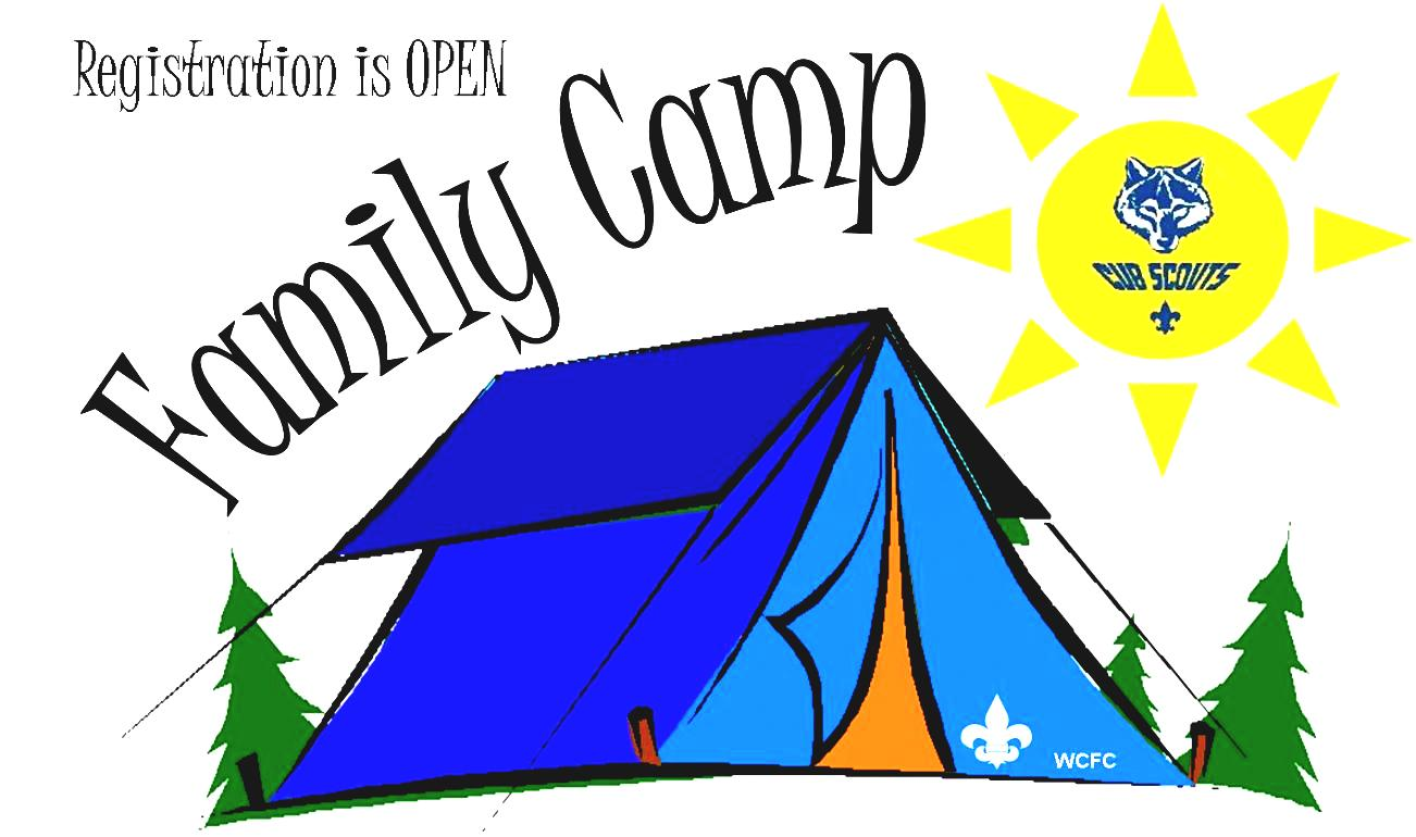 Camping Clipart Cub Scout Pack Macedon Ny Home Page Of Family Camp.