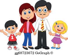 Family Cartoon Clip Art.