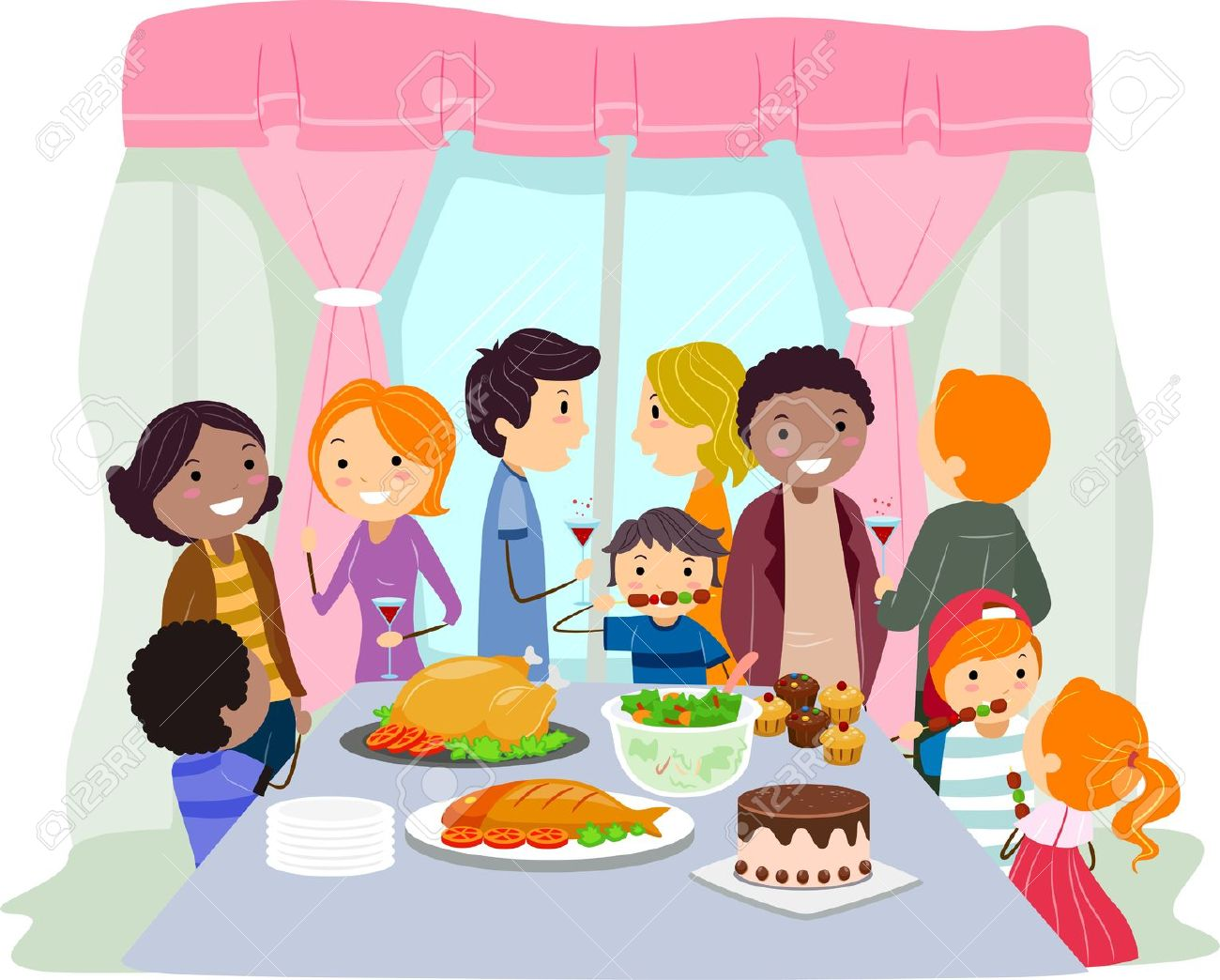 Free Family Party Cliparts, Download Free Clip Art, Free.
