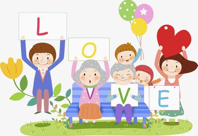 Happy Family PNG, Clipart, Cartoon, Cartoon Characters.