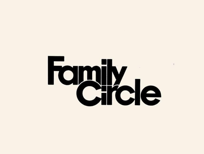Family Circle Logo Designer: Herb Lubalin.