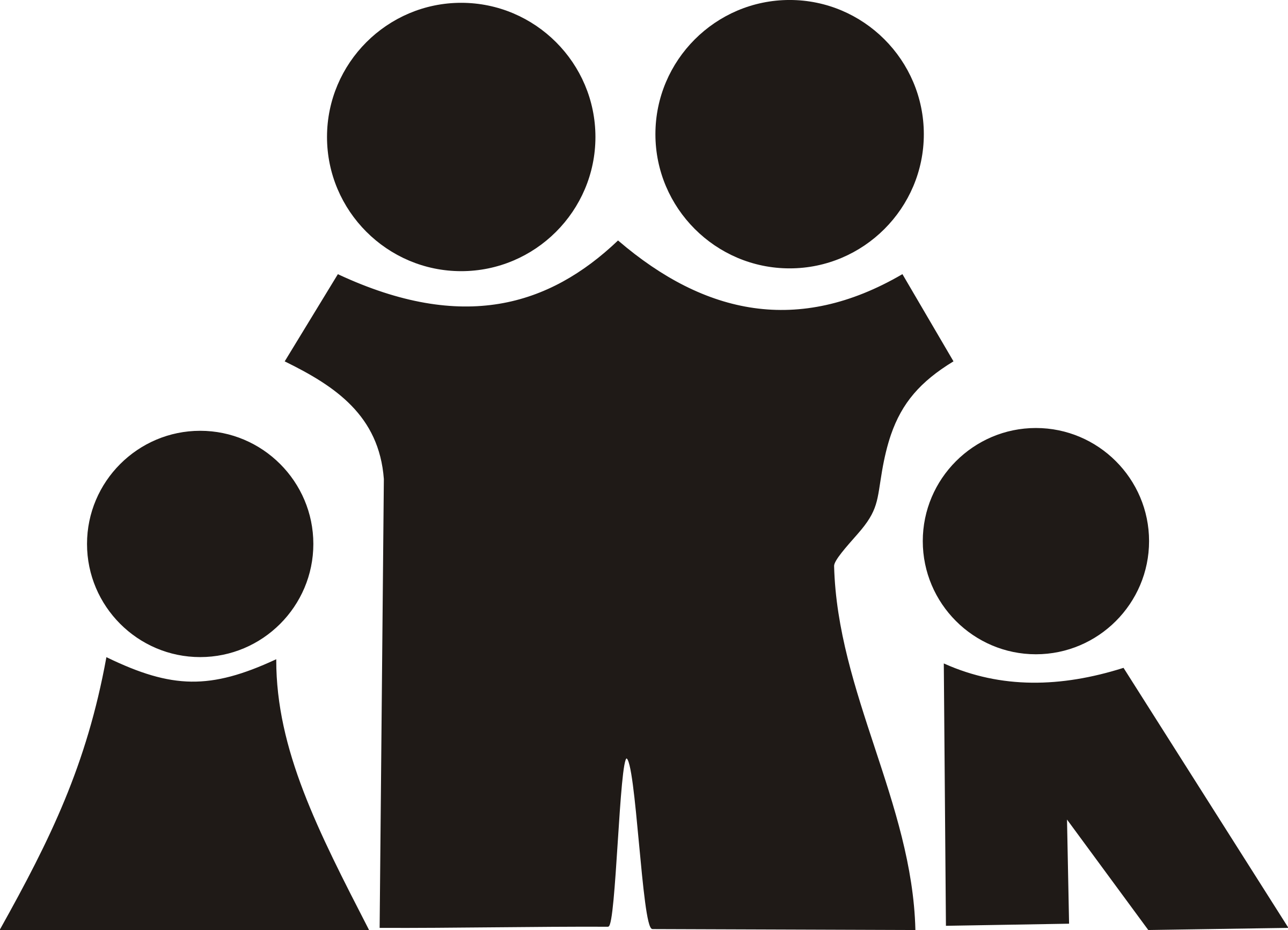 Family black and white family clipart clipart club.