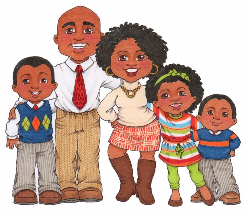 Best Black Family Clipart #23678.