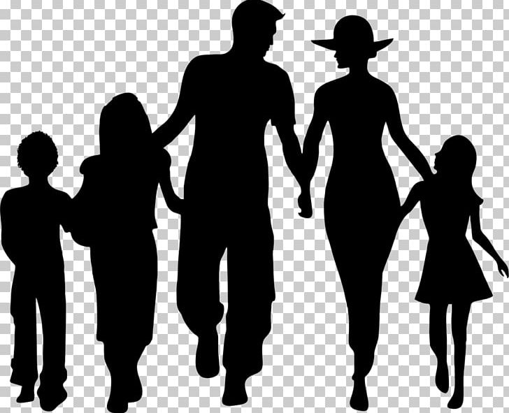 Family Silhouette PNG, Clipart, Black And White, Child, Close To You.