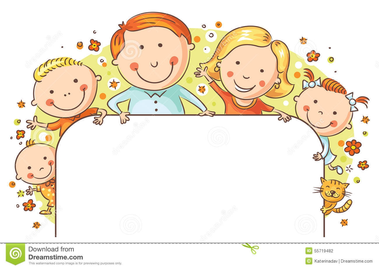 Family Frame Clipart For Kids.