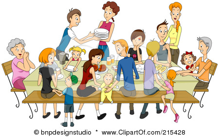 Showing post & media for Cartoon family word clip art.