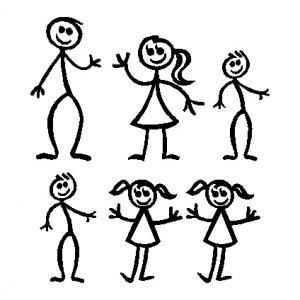 Family clipart 6 people 2 » Clipart Portal.